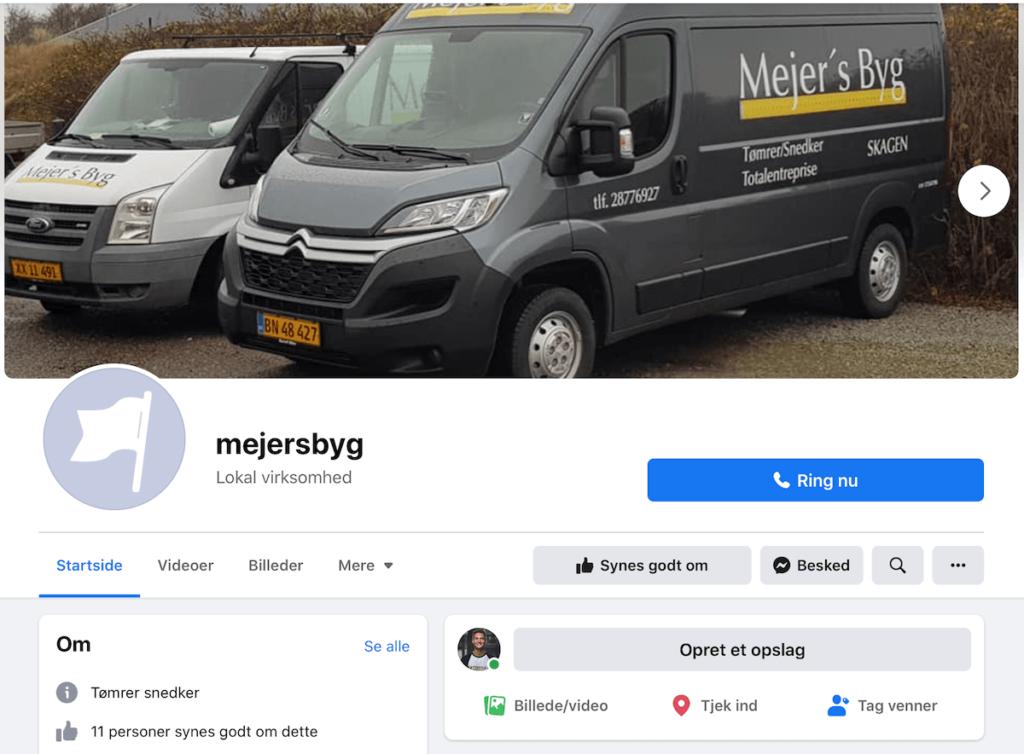 Facebook Mejers byg